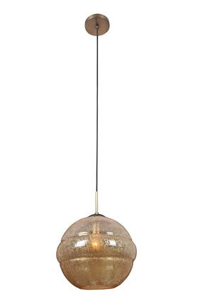 7576CB Celine Large Pendant Ceiling Light Contemporary Style  120V in Chemical Bronze