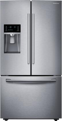 """RF23HCEDBSR 36"""" Wide Counter Depth French Door Refrigerator with 23 Cu. Ft. Capacity  Twin Cooling Plus  CoolSelect Pantry  High-Efficiency LED Lighting  and"""