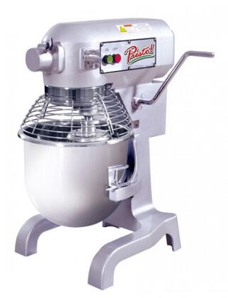 PM20 20 Quart Mixer with 20 Quart Capacity  6.6 lbs Flour Capacity  1 HP  3 Speeds  in Stainless