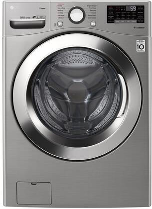 WM3700HVA Ultra Large Capacity Front Load Washer with 4.5 cu. ft. Capacity  Steam  and WiFi Connectivity  in Graphite