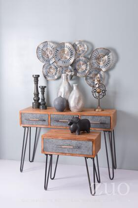 A10676 Metal End Table