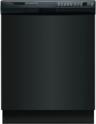 "Frigidaire 24"" Built-In Dishwasher with Stainless-Steel Tub Black FDB2410HIB"