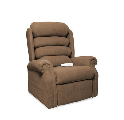 Stellar NM1950-ECY-A11 35 inch  Power Recliner Lift Chair with 3 Position Mechanism  Single Motor and Sinuous Spring and Foam Seat in