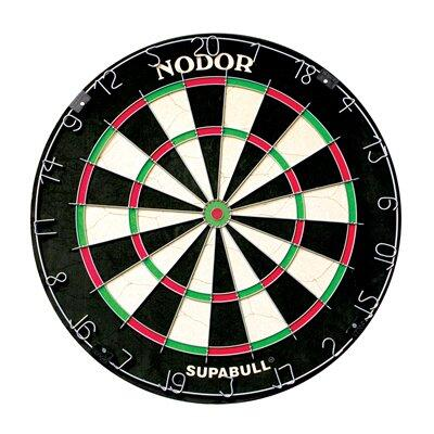 ND300 Supabull 2 Staple Free Tournament Style Dartboard Endorsed by the American Dart Organization with a Movable Number