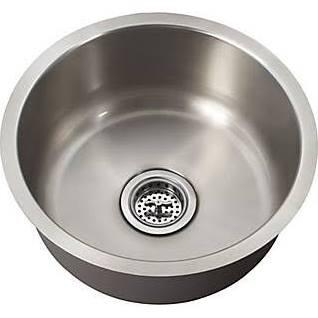 SCSBR18 All-in-One Undermount Stainless Steel 16x16x9 0-Hole Single Bowl Kitchen