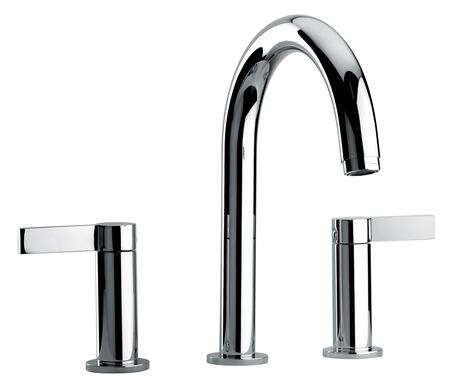 14102-120 Two Lever Handle Roman Tub Faucet With Classic Spout  Polished Gold