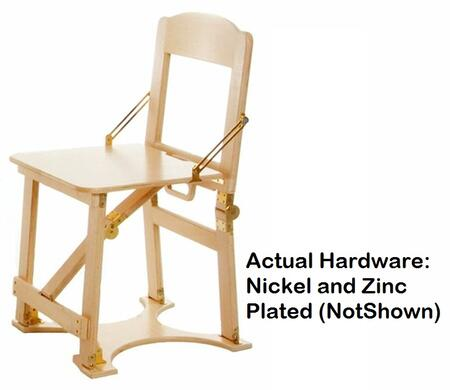 CCHAIR-NB Hand Crafted Custom Finished Folding Chair in Natural