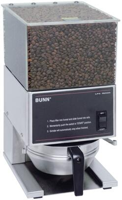 20580.0001 LPG SST Low Profile Portion Control Coffee Grinder With 1 Hopper  Quiet High Torque Motor  in Stainless