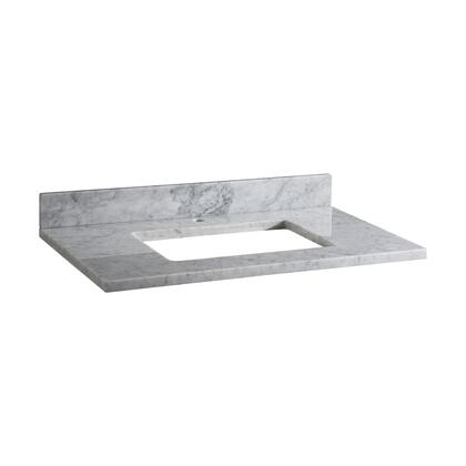 MAUT43RWT1_Stone_Top__43inch_for_Rectangular_Undermount_Sink__in_White_Carrara_Marble_with_Single_Faucet