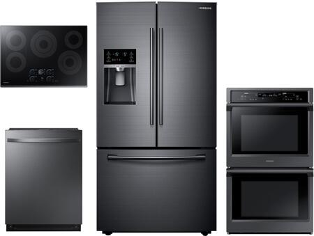 4 Piece Kitchen Appliance Package with RF23HCEDBSG 36