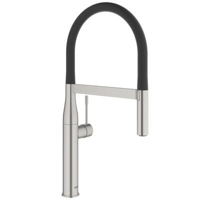 Grohe 30295DC0 Essence Professional Single-Handle Kitchen Faucet, Supersteel