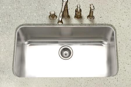 PNL-3600-1 Eston Series Undermount Stainless Steel Large Single Bowl Kitchen Sink  16