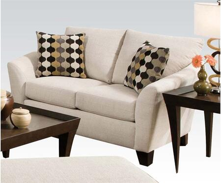 Desmond Collection 51011 Loveseat with 2 Pillows Included and Soft Chenille Upholstery in Butler