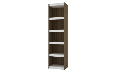 Parana 2.0 Collection 31AMC47 72 inch  Bookcase with 5 Shelves and High Quality MDP in White and