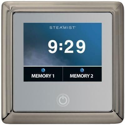 450T-BN Traditional Total Sense Steambath Residential Control  in Brushed