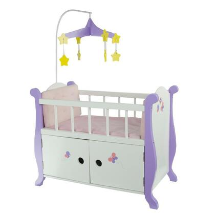 TD-0206A Teamson Kids - Little Princess 18 Doll Furniture - Baby Nursery Bed with