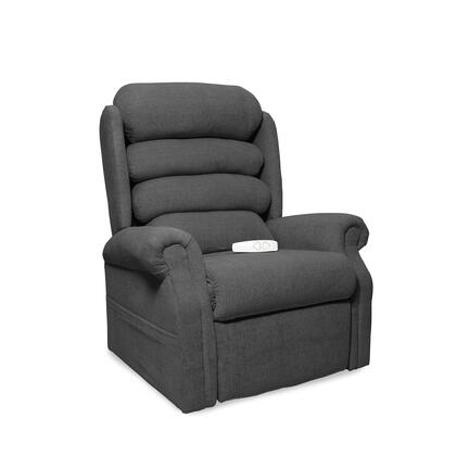 Stellar NM1950-ECL-A11 35 inch  Power Recliner Lift Chair with 3 Position Mechanism  Single Motor and Sinuous Spring and Foam Seat in