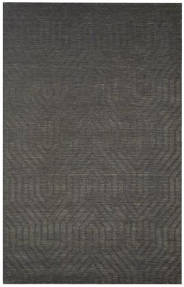 Tectc857433000203 Technique Tc8574-2 X 3  Hand-loomed 100% Wool Rug In Gray   Rectangle
