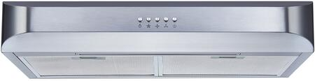 W110A1C30 30 inch  Undercabinet Range Hood with 250 CFM  Convertible Venting  in Stainless
