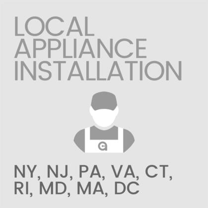 Local Installation of Major Home Appliance (Only Valid in NY  NJ  PA  VA  CT  RI  MD  MA  or