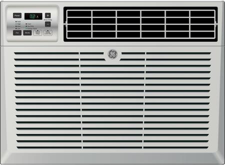 AEM18DX 24 inch  Window Air Conditioner with 18000 Cooling BTU  Energy Star Qualified  EZ Mount  Fixed Chassis  3 Fan Speed  Electronic Digital Thermostat  in Light