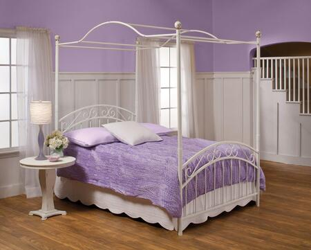 1864BFPR Emily Bed Set - Full - w/Rails & Canopy