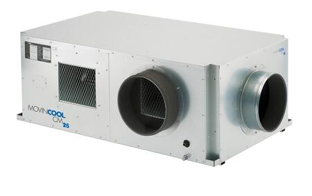 """CM25 53"""" Ceiling Mounted Compact Air Conditioner with 25 000 BTU High Sensible Cooling Wall Mount Controller 14 Seer Variable Speed Compressor and"""