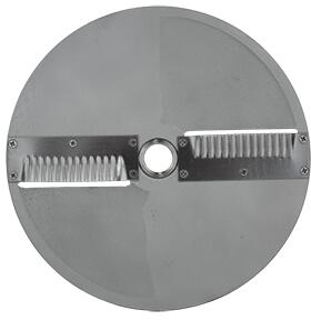 W3 Scallop Cut Disc Blade for Master Sky 3/4 HP and Master SS Food Processor with 3/16