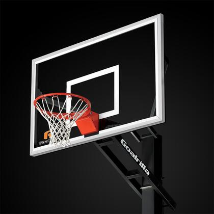 B5002W GS60c Basketball 60 inch  Hoop with a Pre-Assembled Pro-Style Flex Rim and an Anchor Bolt Mounting