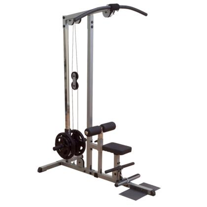 GLM83 Body Solid Plate-Loaded Lat Machine with DuraFirm Pads and Straight