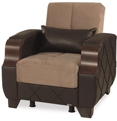 Molina Collection MOLINA ARMCHAIR LYON BROWN / DARK 45
