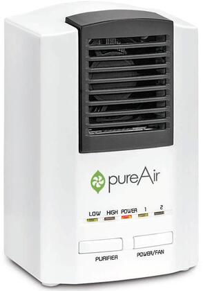 PUREAIR250 Air Purifier with 250 Sq. Ft. Coverage Area  Easy To Clean Rear Filter  Scalable Ozone Technology  Bipolar Ion Technology  and Two Fan Speeds  in