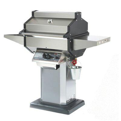 SDSSOPP Liquid Propane Grill with 25 000 BTUs  400 sq. in. Primary Cooking Area  Stainless Steel Grill Head  Cast Aluminum End Caps  Stainless Steel Column and