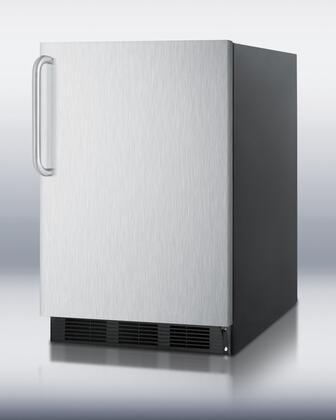 FF6BBI7SSTB 5.5 cu. ft. All-Refrigerator With Automatic Defrost  One Piece Interior Liner  Hidden Evaporator  Adjustable Shelves  Door Shelves  Interior Light