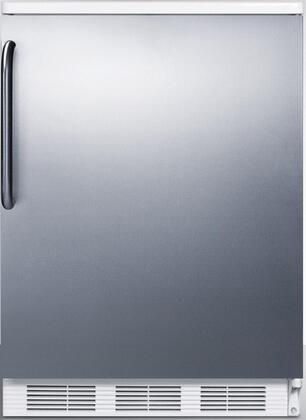FF67SSTB 24 inch  FF67 Series Energy Star  Medical  Commercial Freestanding Compact Refrigerator with 5.5 cu. ft. Capacity  Crisper  Door Storage  Interior Light