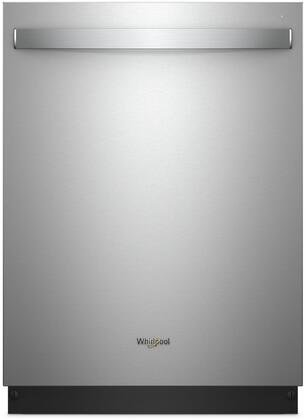 "Whirlpool 24"" Built-In Dishwasher with Stainless Steel Tub Stainless steel WDT975SAHZ"