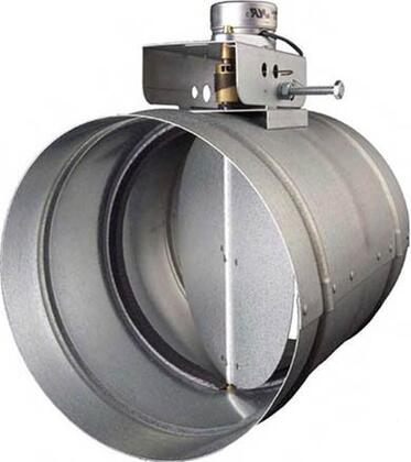 MD6TR Make-Up Air Damper with Heavy Duty Galvanized Steel Construction  24VAC Transformer and Low Voltage Relay