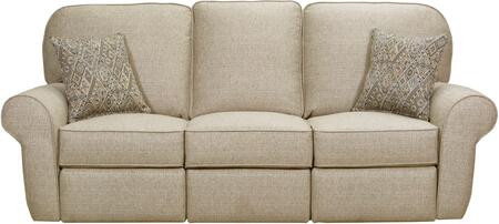 """57005P-53_Macintosh_Sage_90""""_Powered_Double_Motion_Sofa_with_Rolled_Arms_and_USB_Charging_Port_in_Tan"""