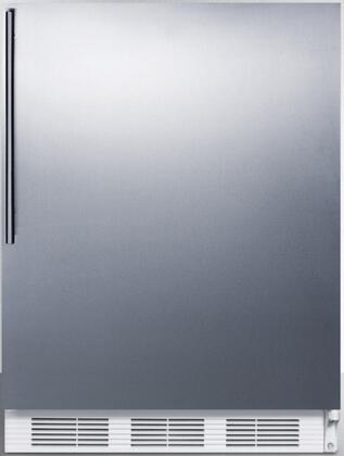 CT66JBISSHV 24 inch  CT66JBI Series Medical Freestanding or Built In Compact Refrigerator with 5.1 cu. ft. Capacity  Adjustable Shelves  Crisper  Zero Degree