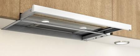 ZPIE30AW290 Under Cabinet Range Hood with 290 CFM Internal Blower  Sliding Glass  3.2 Sones  3 Speed Levels  Mechanical Slide Controls and Halogen Lighting in