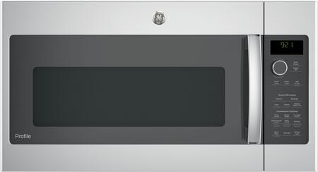 GE PVM9215SKSS Stainless Steel Over the Range 2.1 cu. ft. Capacity Microwave Oven