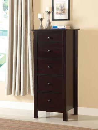 Launces CM-AC119EX Storage Chest with Contemporary Style  Compact Design  5-Drawer Chest in