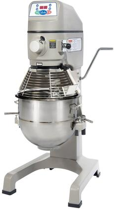 SP30 30 Quart Planetary Floor Mixer with 1 HP Motor  Digital Controls  High-Torque Transmission and 3 Fixed