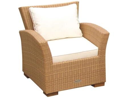 CHA1H 30 inch  Charleston Chair in Honey with White