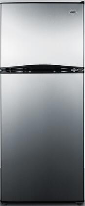 Summit FF1073SSIM Refrigerator, Stainless Steel