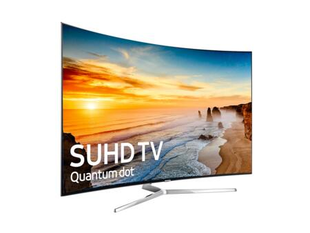 "UN78KS9500FXZA 78"" Class KS9500 9-Series Curved 4K SUHD TV (2016 Model) with Quantum Dot Color  Supreme MR 240  HDR 1000  and New Smart Hub:"