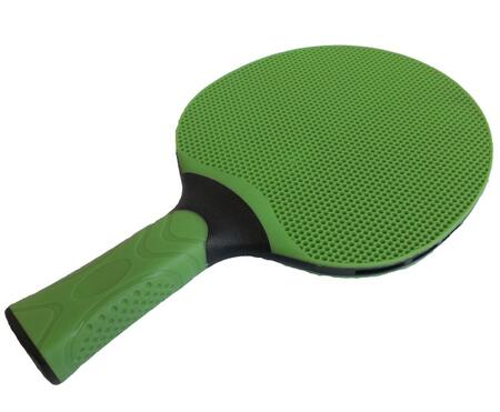 21-481 Outdoor Weather Resistant Table Tennis Racket with Ergonomic Handle and Injection Molded in