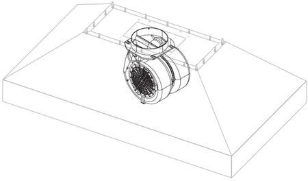 BSPCIB600 600 CFM Internal Blower Kit For 30