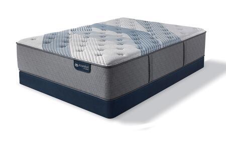 iComfort Hybrid 500821851-QMFLP Set with Blue Fusion 1000 Luxury Firm Queen Mattress + Low Profile