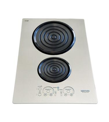 "14"" Silken Series 240 Volt Induction Cooktop with 2 Elements  Lite-Touch Control  Indicator Lights  Easy Clean Up  Spills and Pot Retention  in"